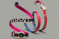 V E R S A C E PINK LEATHER V-FLARE WATCHМ КОД 200131 ҮНЭ 250.000 ТӨГ